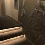 Runkel-Stufen beleuchtet